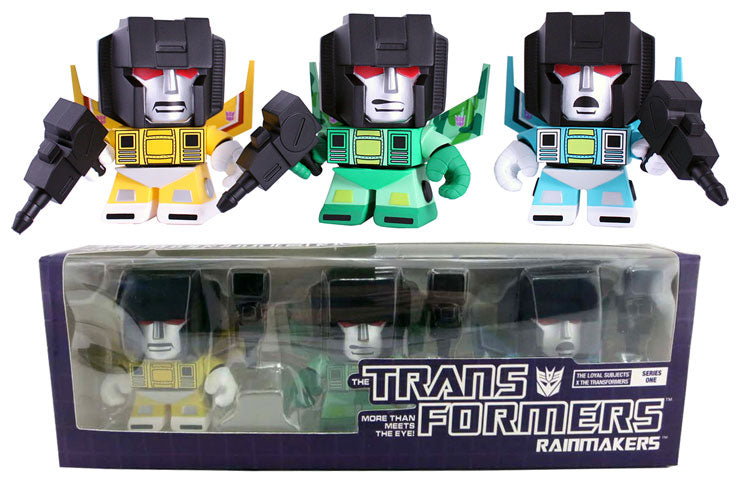 Loyal Subject The Transformers Rainmakers (3 Pack)