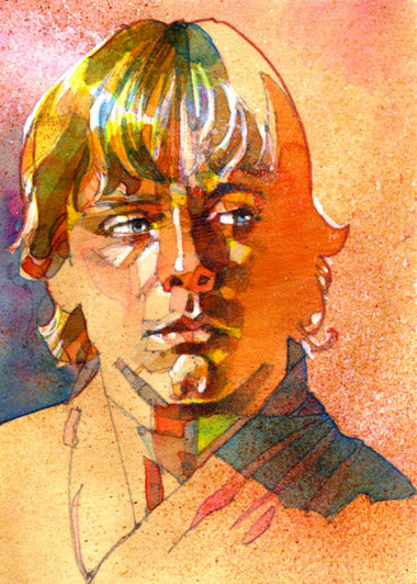 "Star Wars Luke Skywalker ""Farm Boy"" Giclee on Canvas by Mark McHaley"