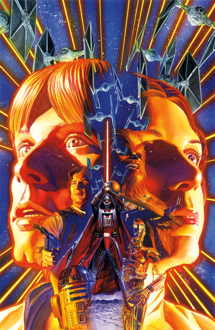"Copy of Star Wars ""Star Wars #1"" Giclee on Canvas by Alex Ross"
