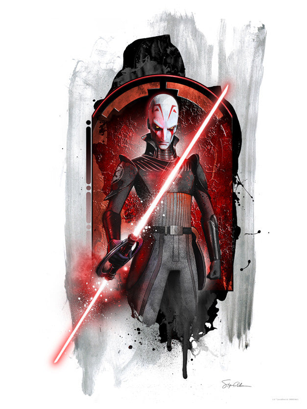 Star Wars Inquisitor Lithograph by Steve Anderson
