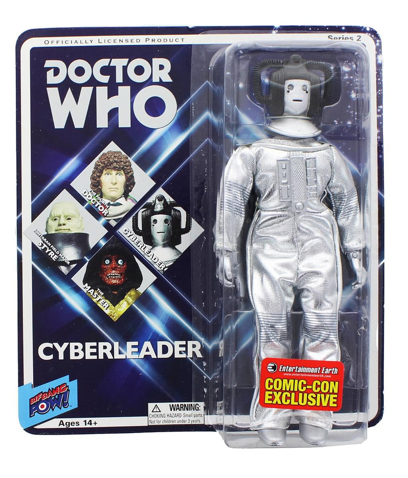 Comic Con Exclusive Doctor Who Series 2 Cyberleader Action Figure