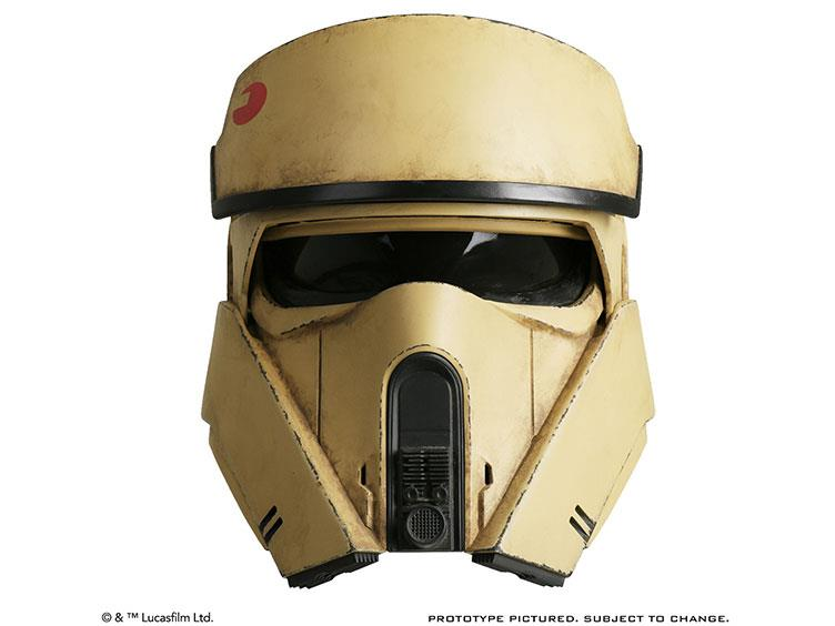 Preorder April 2017 Rogue One: A Star Wars Story Shoretrooper Helmet - Toy Wars - Anovos - 1