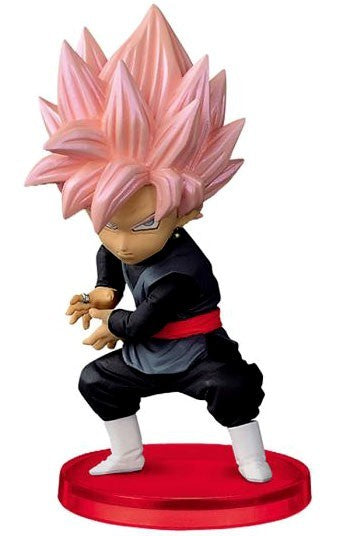 Dragon Ball Z WCF Vol. 7 Super Saiyan Rose Goku Black 2.5-Inch Collectible Figure DB037