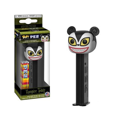 Preorder Nightmare Before Christmas Vampire Teddy Pop! Pez