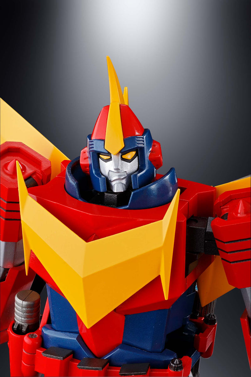 Preorder November 2018 GX-81 Zamboace Invincible Super Man Zambot Bandai Soul Of Chogokin