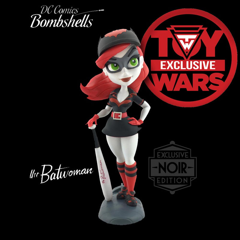 Preorder August 2017 Toy Wars Exclusive DC Bombshells Noir Batwoman Series 2 Vinyl Figure