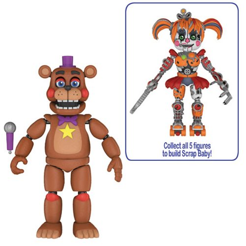 Preorder September 2018 Five Nights at Freddy's: Pizza Simulator Rockstar Freddy 5-Inch Action Figure