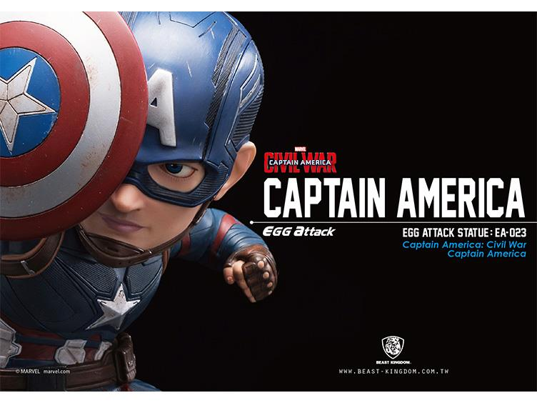 Preorder July 2017 Catpain America Civil War Egg Attack Statue