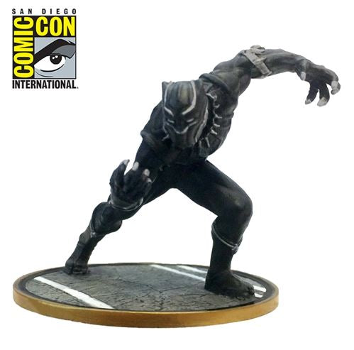 SDCC 2017 Exclusive Black Panther Metal Miniature Mini-Figure