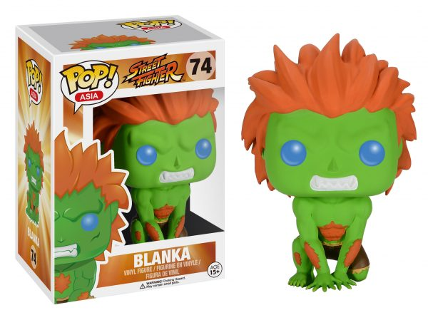 Street Fighter Blanka POP! Vinyl Figure - Toy Wars - Funko