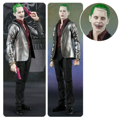 Suicide Squad The Joker SH Figuarts Action Figure