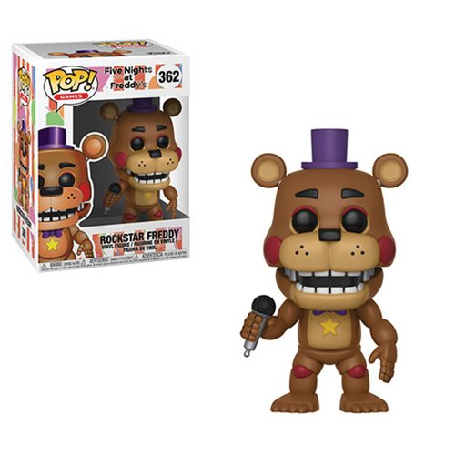 Five Nights at Freddy's: Pizza Simulator Rockstar Freddy Pop! Vinyl Figure #362