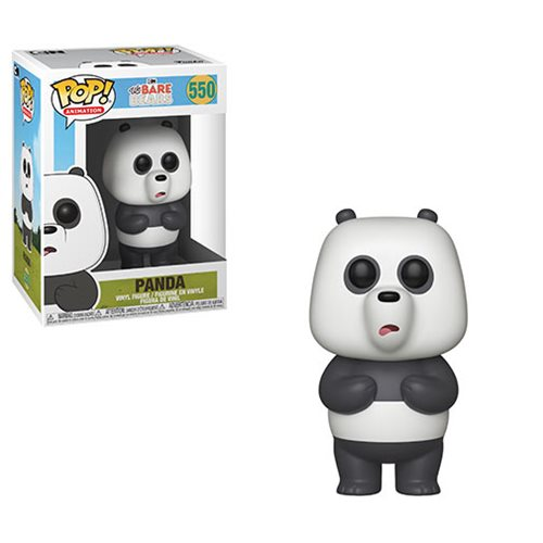 We Bare Bears Panda Pop! Vinyl Figure #550