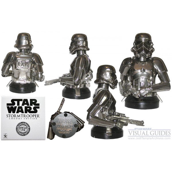 Gentle Giant Mini Bust Stormtrooper (Chrome Edition)