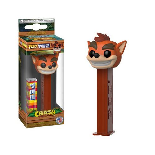 Preorder Crash Bandicoot Pop! Pez