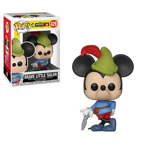 Preorder Mickey's 90th Brave Little Tailor Pop! Vinyl Figure #42