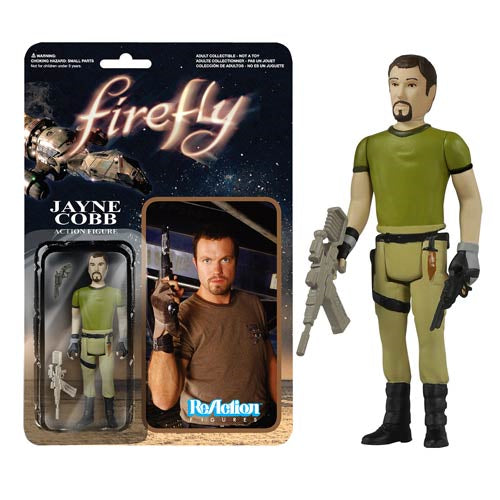 Firefly Jayne Cobb with Vera ReAction 3 3/4-Inch Retro Action Figure