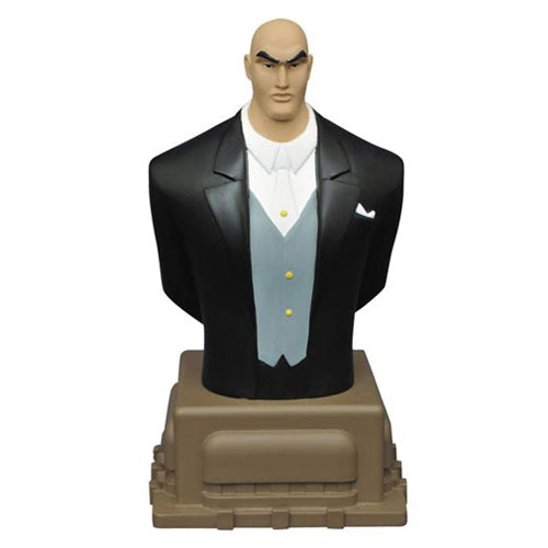 Superman Animated Series Lex Luthor Resin Bust - Toy Wars - Diamond Select Toys