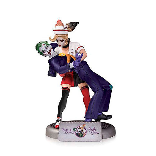 Batman DC Comics Bombshells Joker and Harley Quinn 2nd Edition Statue
