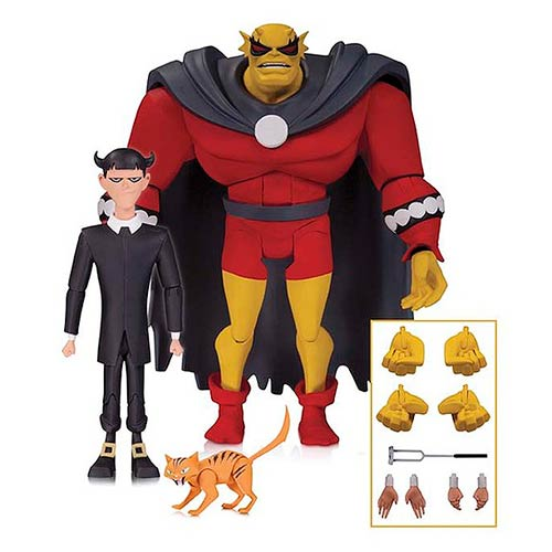 The New Batman Adventures Etrigan and Klarion Action Figures - Toy Wars - DC Comics