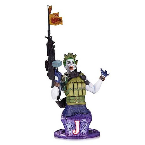 DC Comics Super Villains the Joker Bust