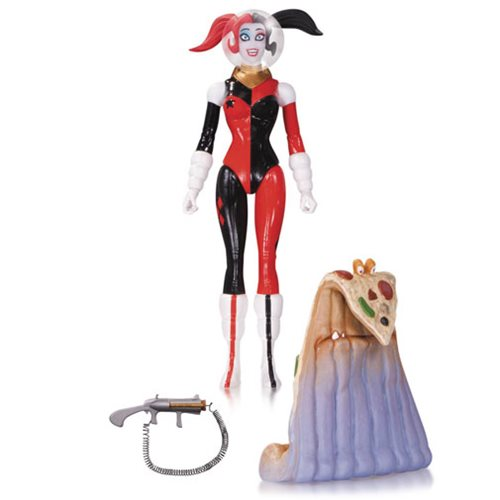DC Comics Designer Series Retro Rocket Harley Quinn Amanda Conner Action Figure