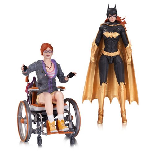 Batman: Arkham Knight Oracle Action Figure 2-Pack - Toy Wars - DC Comics