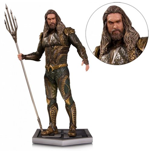 Preorder November 2017 Justice League Movie Aquaman Statue