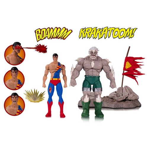 Preorder December 2017 DC Icons Death of Superman Deluxe Action Figure 2-Pack