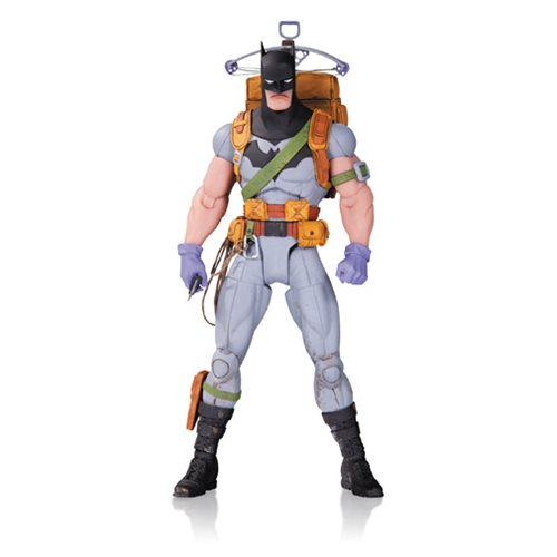 DC Comics Designer Series Survival Gear Batman by Greg Capullo Action Figure - Toy Wars - DC Comics