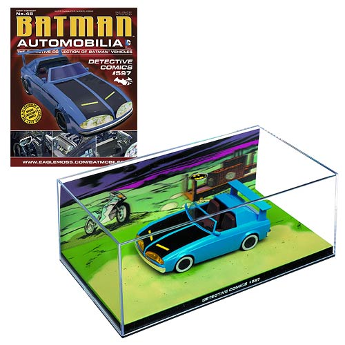 Batman Detective Comics #597 Batmobile with Collector Magazine #48