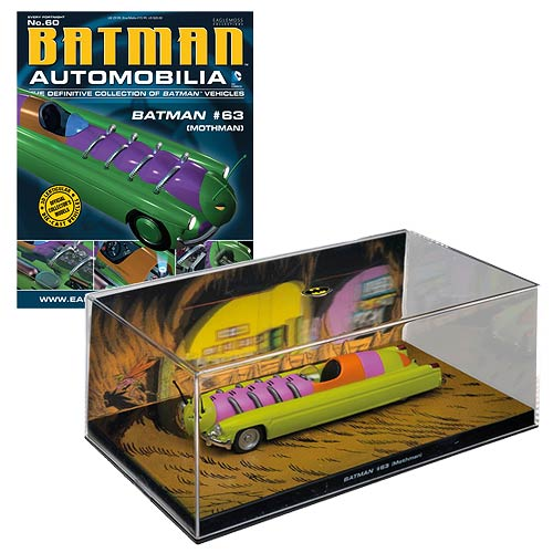 Batman Detective Comics #63 Mothman Die-Cast Vehicle Collector Magazine #60