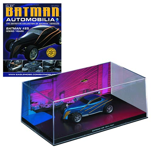 Batman Zero Year #25 Die-Cast Vehicle with Collector Magazine