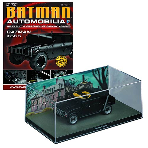 Batman #555 Die-Cast Vehicle with Collector Magazine #69