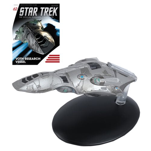 Star Trek Starships Voth Research Vessel Metal Die-Cast Vehicle with Magazine