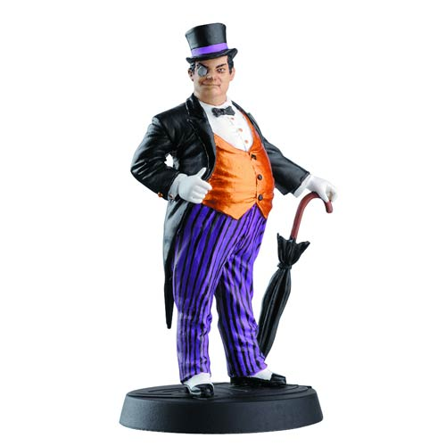 DC Superhero Penguin Best Of Figure with Collector Magazine #6
