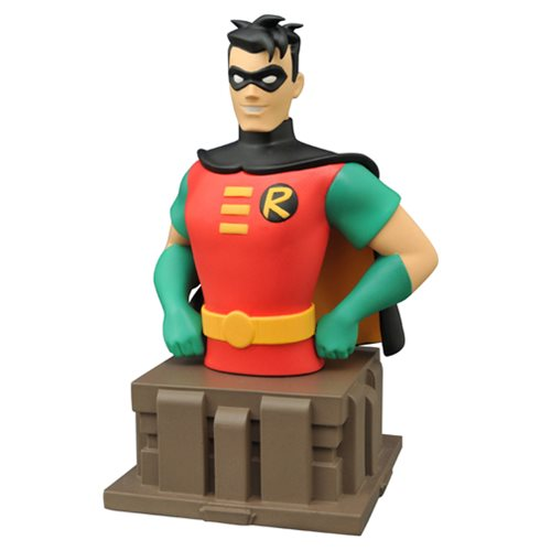 Batman: The Animated Series Robin Bust - Toy Wars - Diamond Select Toys