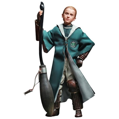 Harry Potter Chamber Of Secrets Quidditch Draco Malfoy 1:6 Scale Action Figure