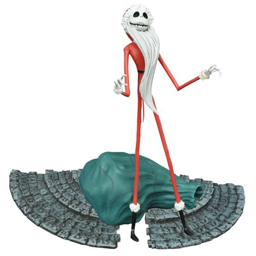 The Nightmare Before Christmas Select Santa Jack Action Figure - Toy Wars - Diamond Select Toys