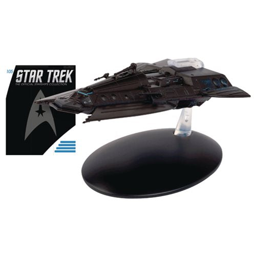 Star Trek Starships Smugglers Ship Die-Cast Metal Vehicle with Magazine #105