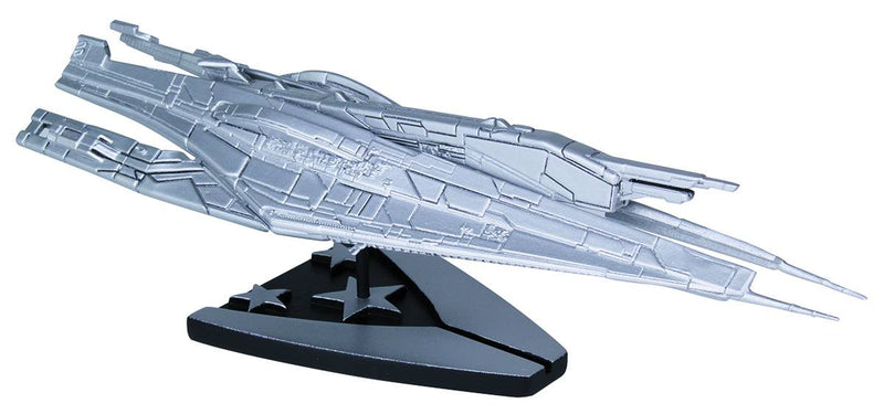Mass Effect Alliance Cruiser Silver Ship Replica