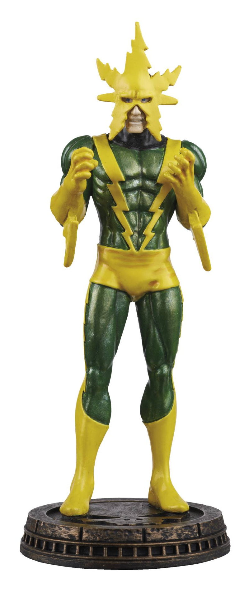 Marvel Chess Figure & Magazine #13 Electro Black Pawn