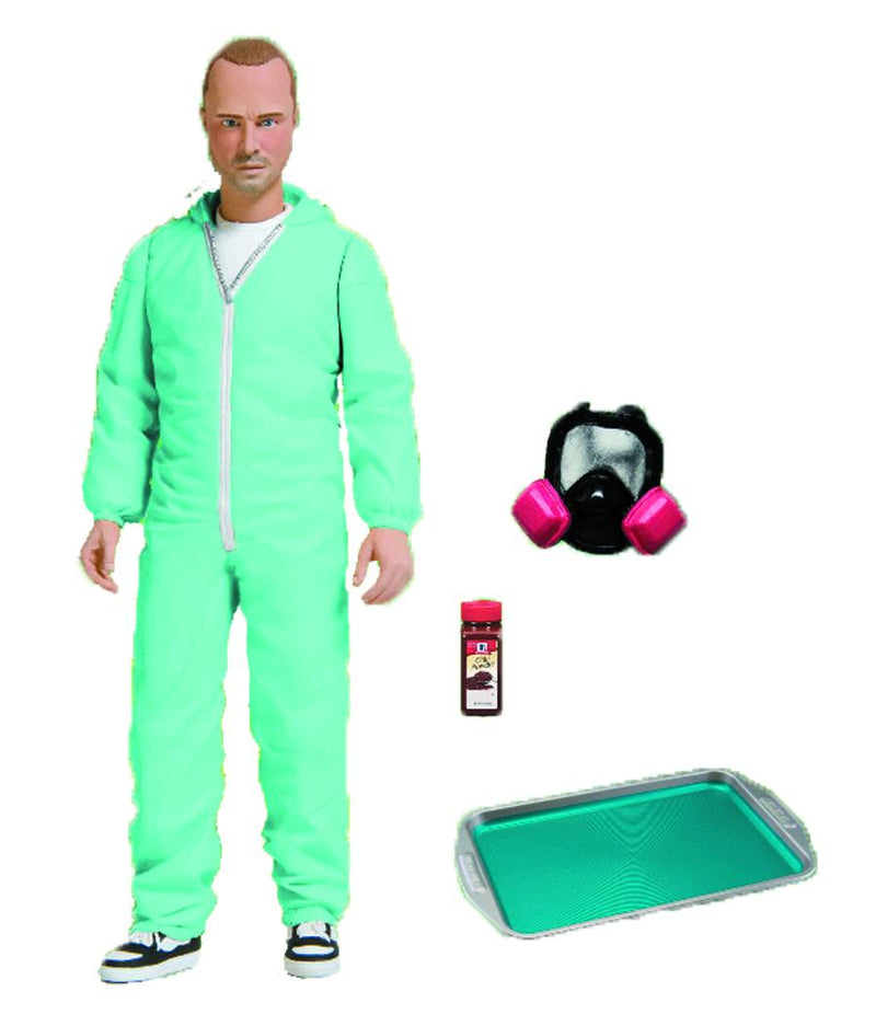 Breaking Bad Jesse Pinkman PX Exclusive Blue Hazmat Suit Action Figure