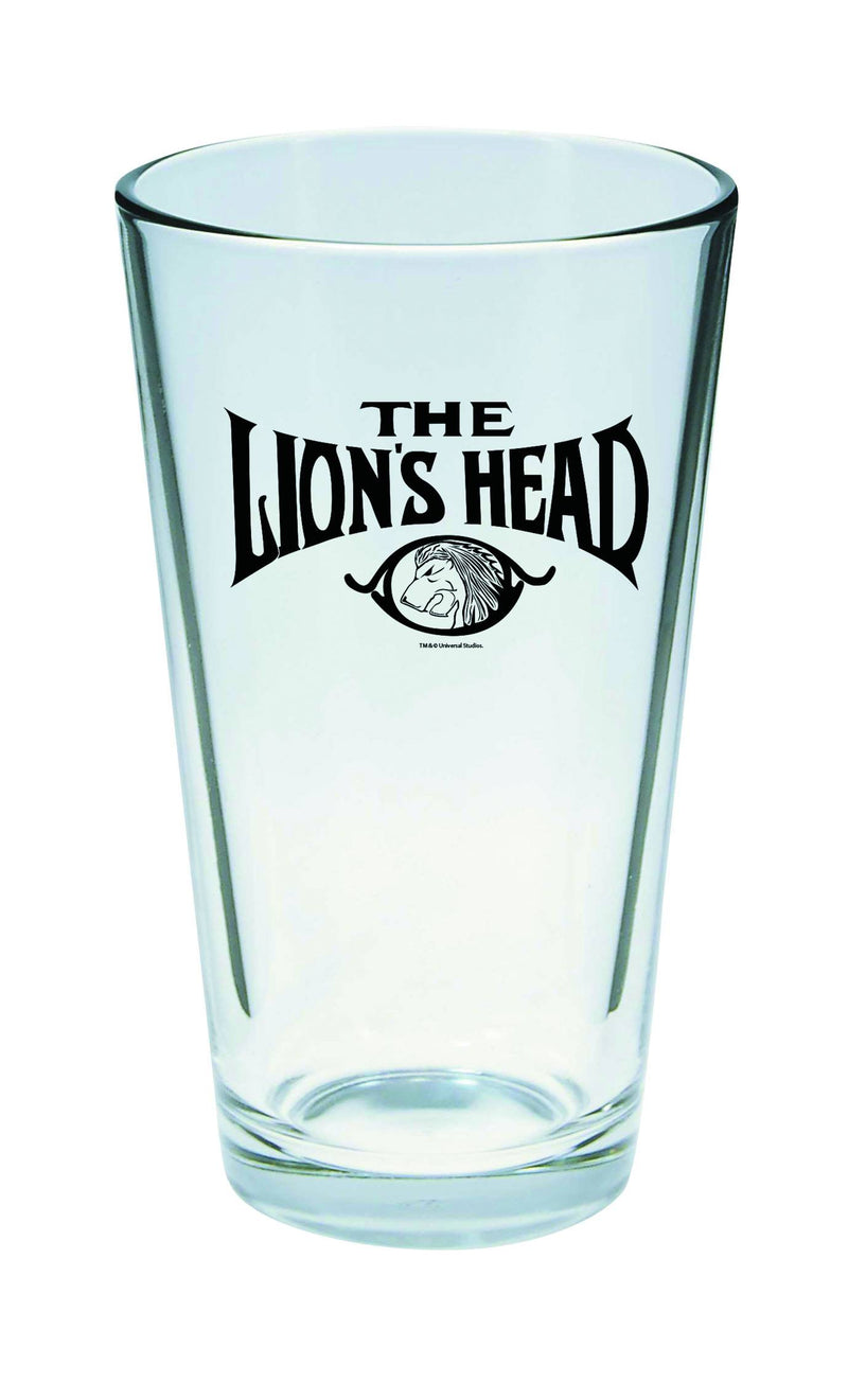 Universal Monsters Invisible Man Lions Head Pint Glass