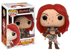 Preorder JAN 2017 Red Sonja Bloody Pop! Vinyl Figure PX Exclusive - Toy Wars - Funko