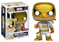 Preorder MAY 2017 Metallic Iron Fist Pop! Vinyl Figure PX Exclusive - Toy Wars - Funko