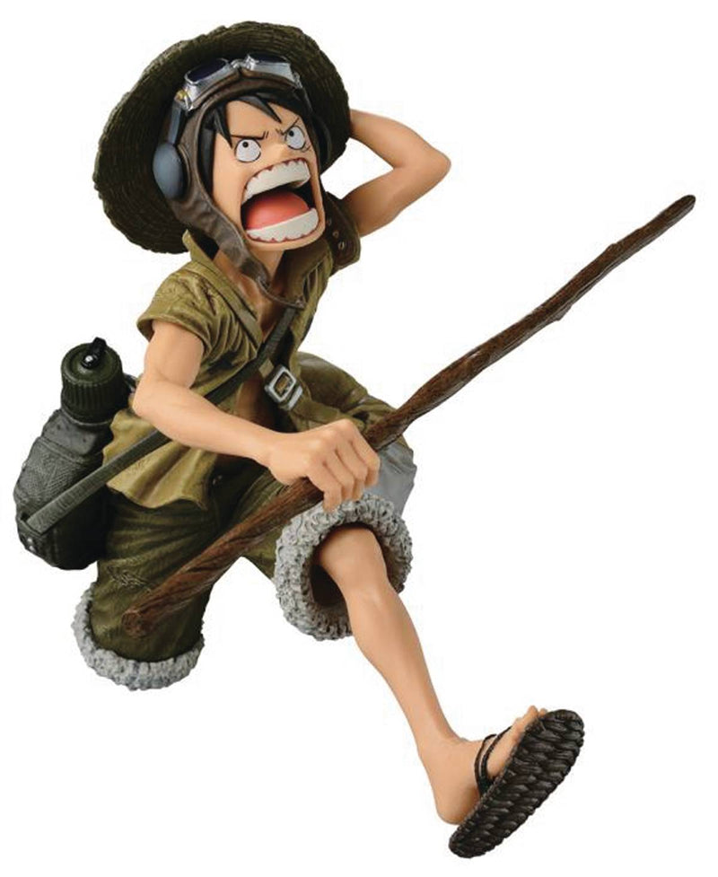 One Piece Scultures Big Zoukeio Camo Luffy Statue