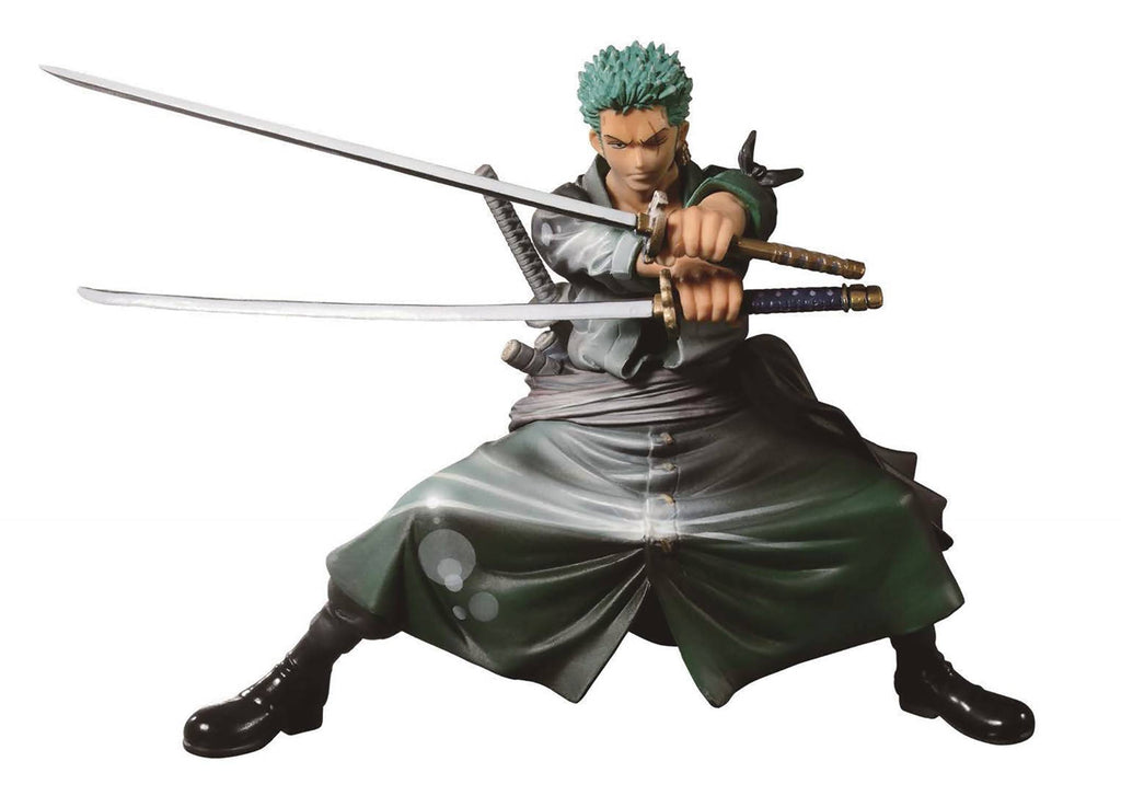 One Piece Scultures Big Zoukeio Shinig Zoro Figure