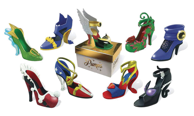 Preorder January 2017 DC Comics Mini Pumps (One Random Shoe)