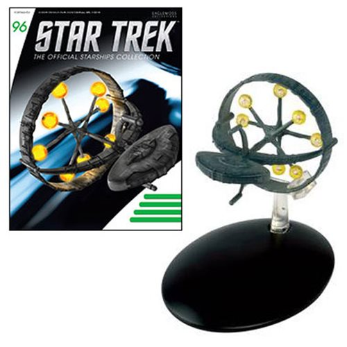 Star Trek Starships Orion Ship Die-Cast Vehicle with Magazine #96